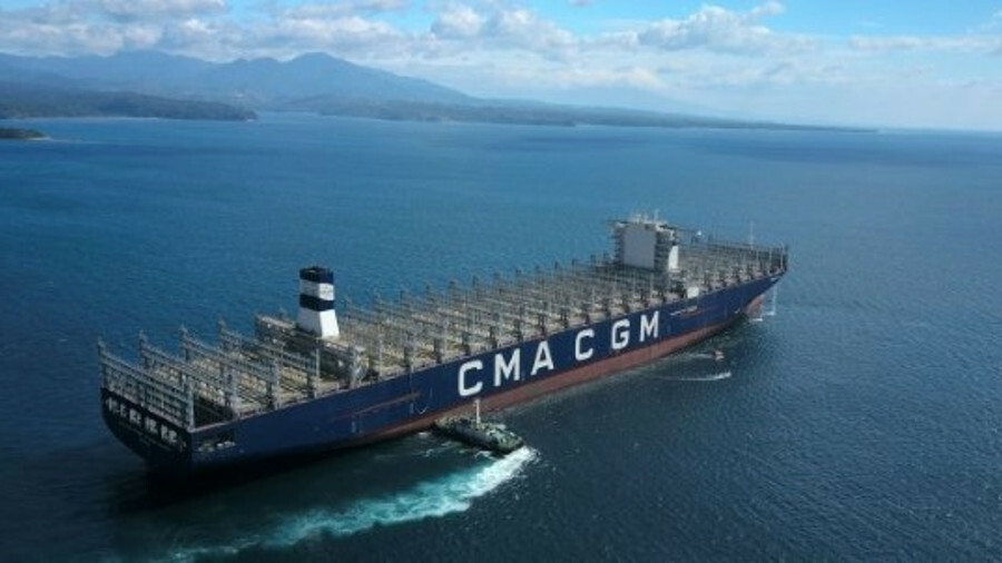 CMA CGM Antoine de Saint Exupery is one a trio of newbuilds CMA CGM has added to its FAL1 service –