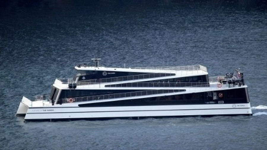 Legacy of the Fjords, set to join The Fjords' fleet in 2019, will be all-electric like Future of the