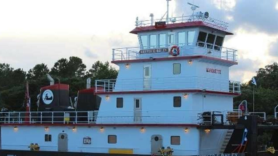 Master Marine shipyard builds tugboats for inland river operations from its shipyard in Alabama