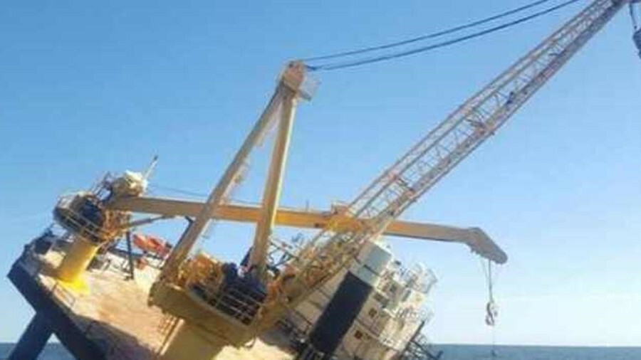 Ram XVIII listed after power loss and water ingress in the US Gulf of Mexico