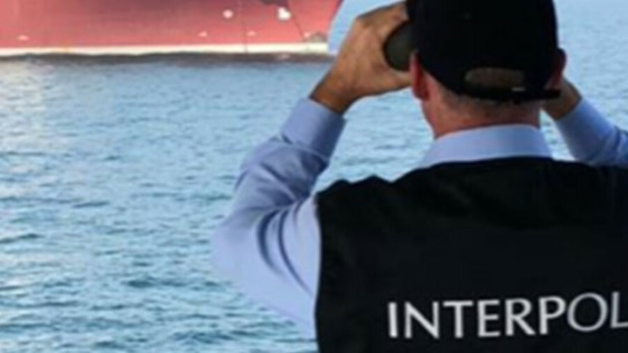 Interpol has carried out its first investigation into maritime pollution crime