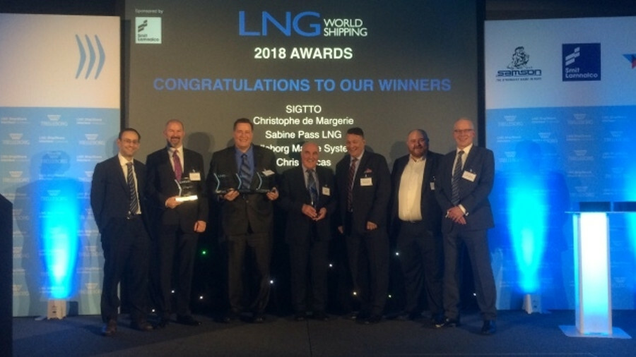 <p><strong><em>LNG World Shipping award winners:</strong><br