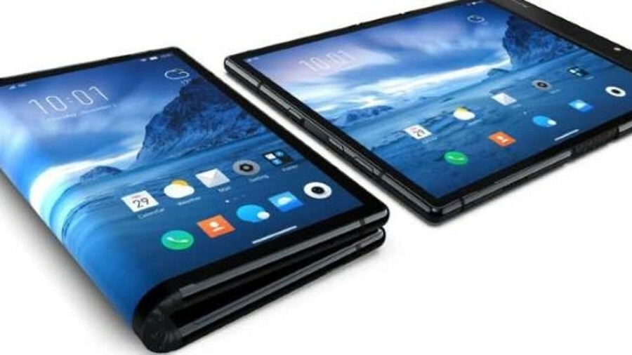 Royole has demonstrated the FlexPai smartphone with a display that can be folded outwards