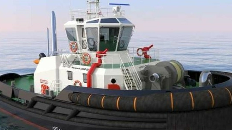 RMK Marine is building two tugs to a Robert Allan RAmparts 2500-SD design