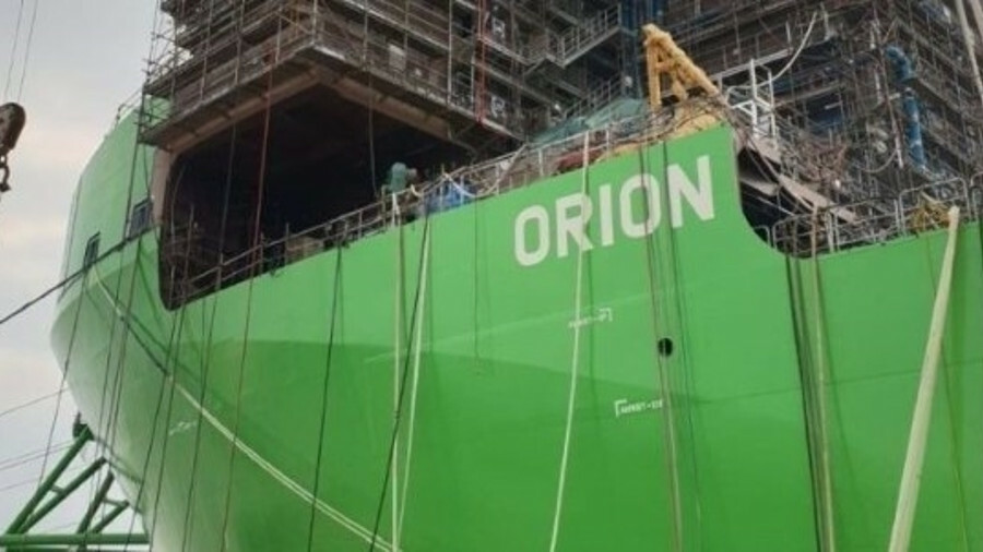 Orion will undertake a range of duties in the offshore energy sector including construction and deco