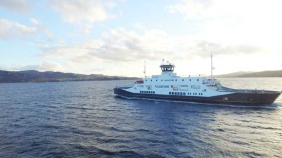 Just press 'sail' for automated docking using Wärtsilä technology (pictured Folgefonn ferry)