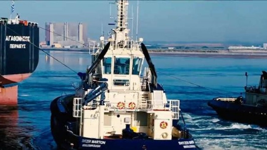 Software improves tug and piloting safety