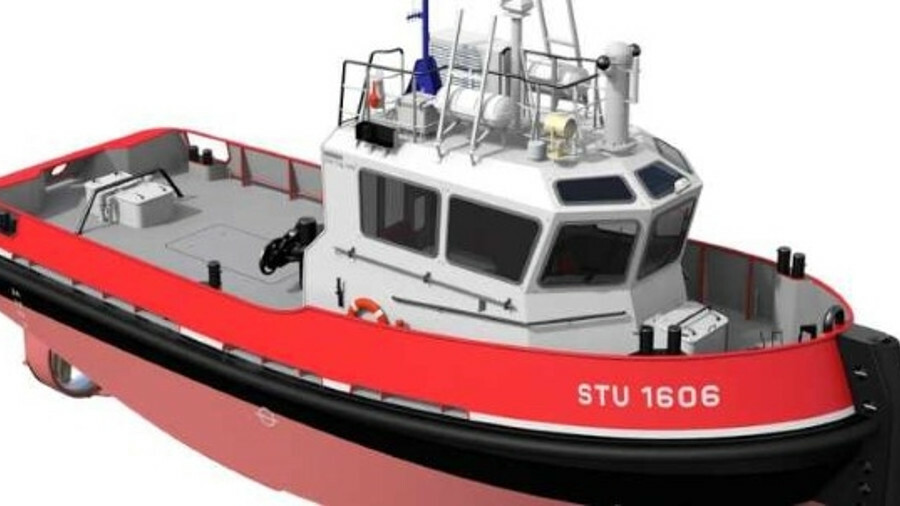 Damen will outfit an STu 1606 stan tug for SNRTM's Toulon operations