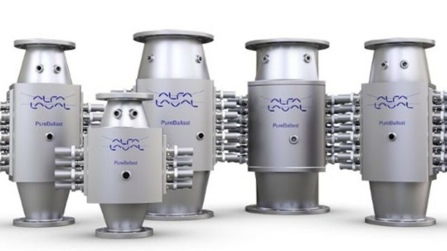 Alfa Laval PureBallast 3: the first UV ballast water treatment system with zero holding time in its