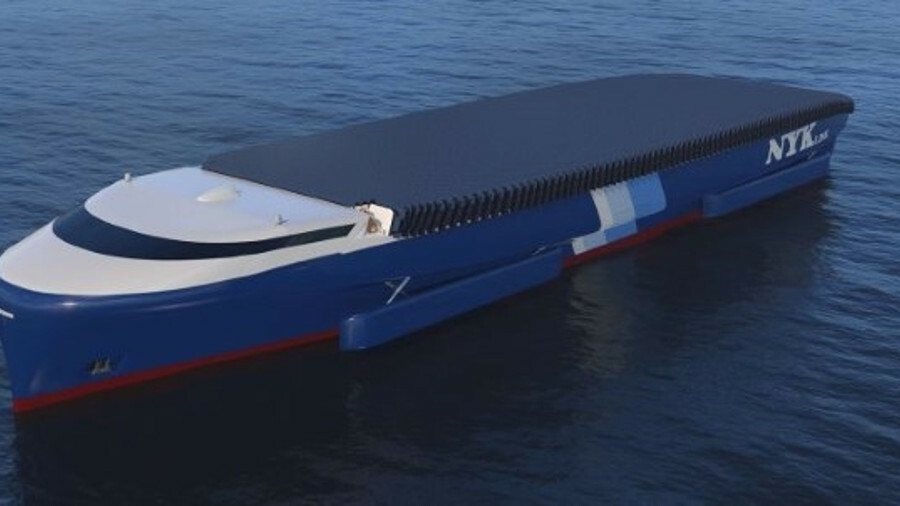 NYK Super Eco Ship 2050: a concept showcasing near-future technologies