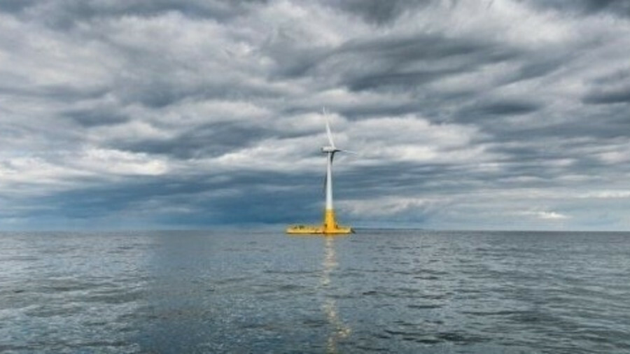 President Macron said France would invest in solar and onshore wind but offshore and floating wind s