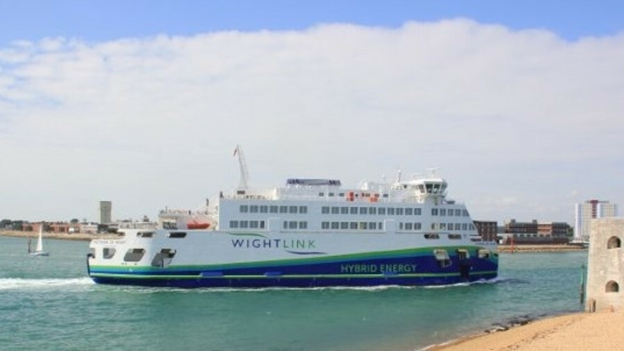 New vessels in Wightlink's fleet are likely to be battery-hybrid, like its flagship Victoria of Wigh