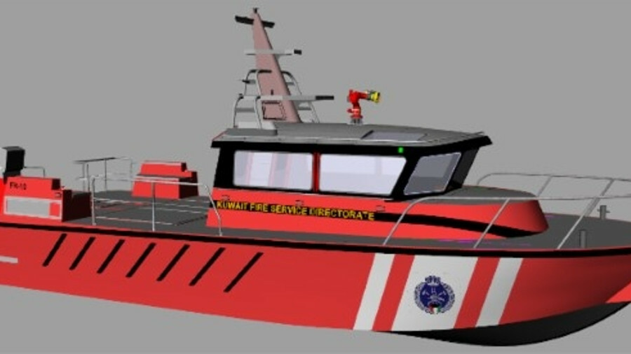 The 50-foot vessel is powered by Volvo D13 745 kW diesel engines and was previously installed with M