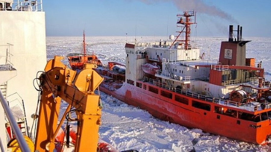 Decreasing ice coverage means the Northwest Passage and Northern Sea Route are increasingly viable a