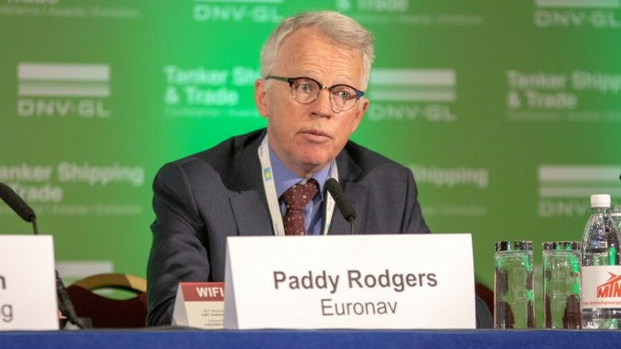 """Paddy Rodgers (Euronav): """"Shipping must embrace [new] targets"""""""