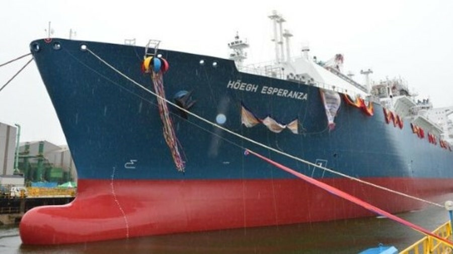 Höegh Esperanza has been in operation for China's CNOOC company for three months