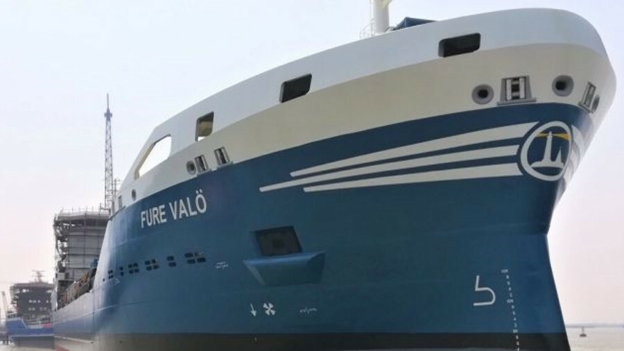 Fure Valo is the fourth of Gothia Tanker Alliance's LNG-fuelled newbuilds, all destined for coastal