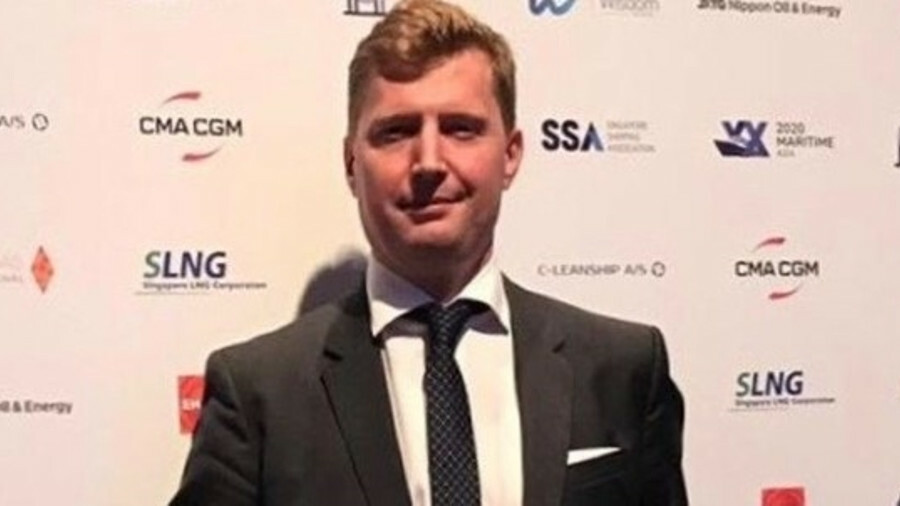 CMA CGM's Mathieu Girardin receives top award in Asia Pacific