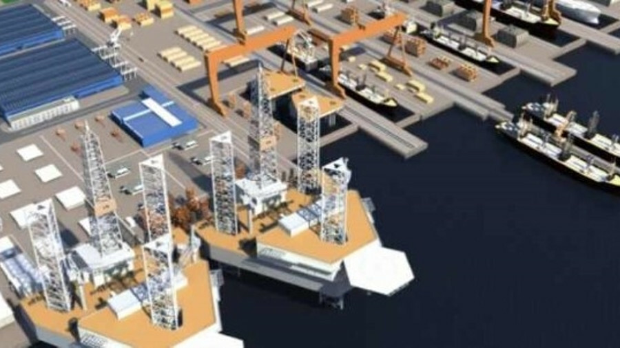 King Salman International Complex will be able to build VLCCs and offshore drilling rigs