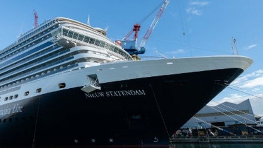 """Holland America Line's new addition Nieuw Statendam represents the company's """"continued evolution"""" ("""