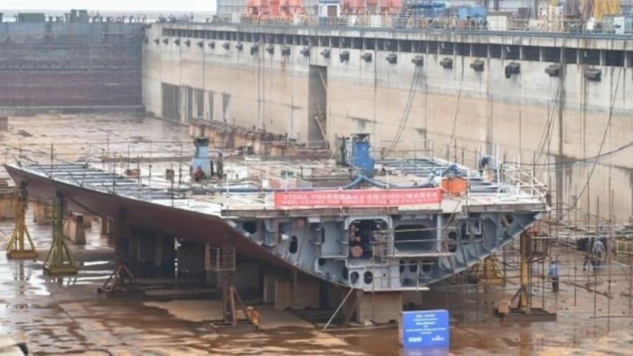 All three of Stena Line's Irish Sea E-Flexer ropaxes are now under construction at AVIC Weihai shipy