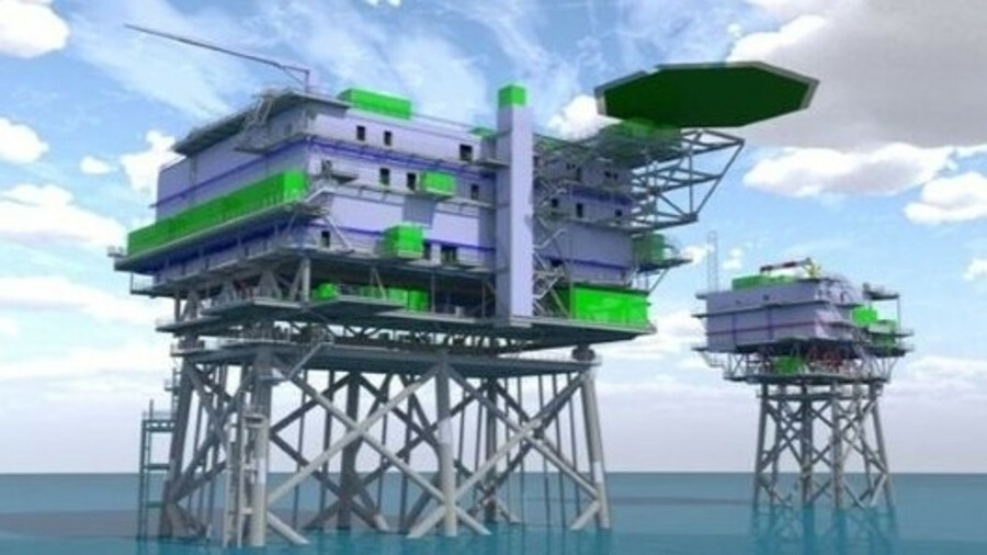 Danish companies ISC and Semco Maritime have completed the design of the offshore substation and the