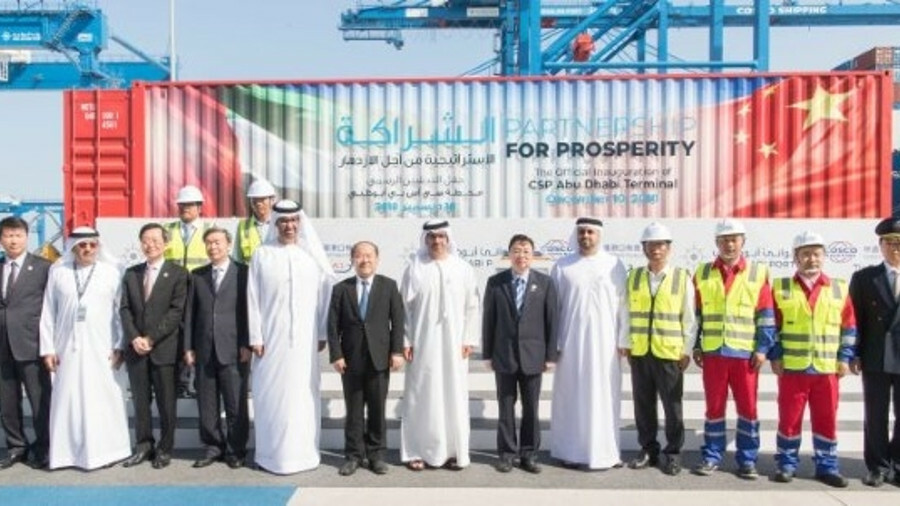 COSCO Shipping Ports and Abu Dhabi Ports have opened a terminal at Kahalifa port that will create a