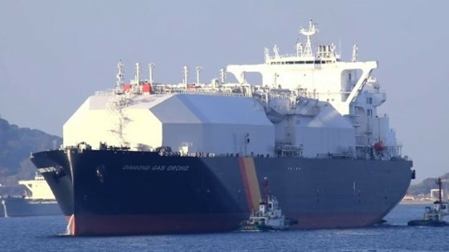 NYK and Mitsubishi's Diamond Gas Orchid is a next-generation LNG carrier