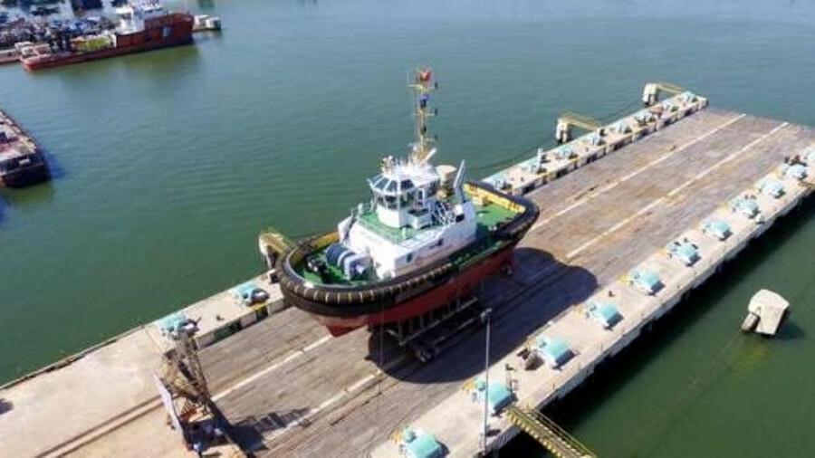 Damen ASD 2411 tug will have 70 tonnes of bollard pull