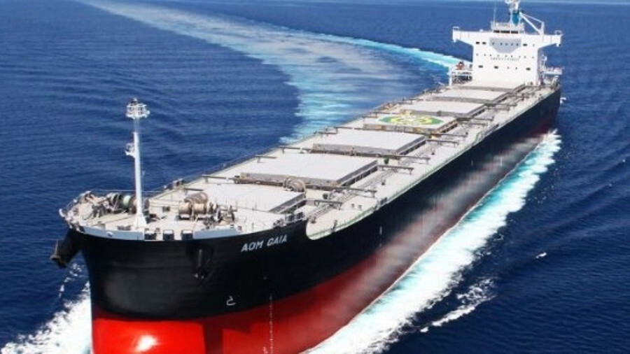 China State Shipbuilding's research arm is developing an LNG-fuelled bulker
