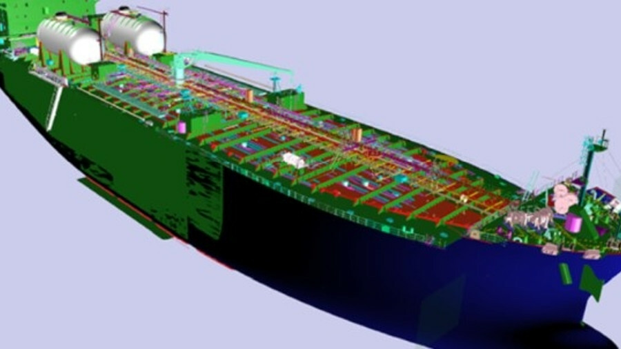 STX incorporated an LNG-fuelled propulsion system into their existing conventional MR tanker design