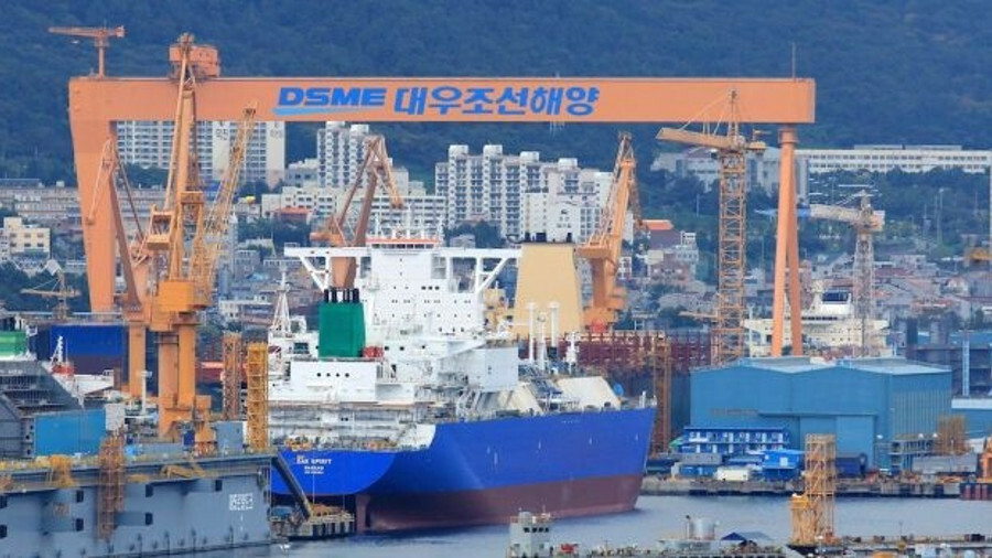 South Korea's DSME is sharing in a rush of orders for LNG tankers