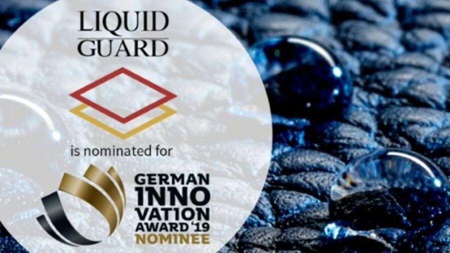 Nano-Care Deutschland AG: German Innovation Award 2019 nominee for Liquid Guard