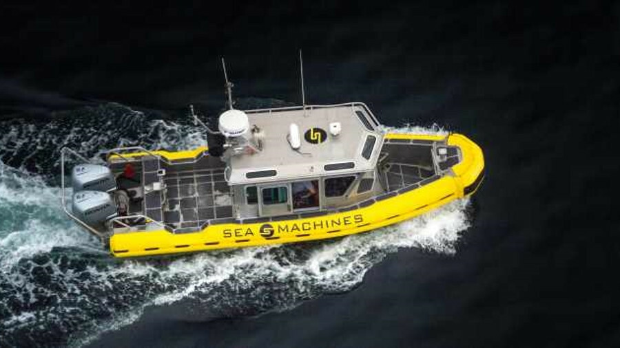 Sea Machines tested its advanced navigation and situational awareness technology on a workboat in 20