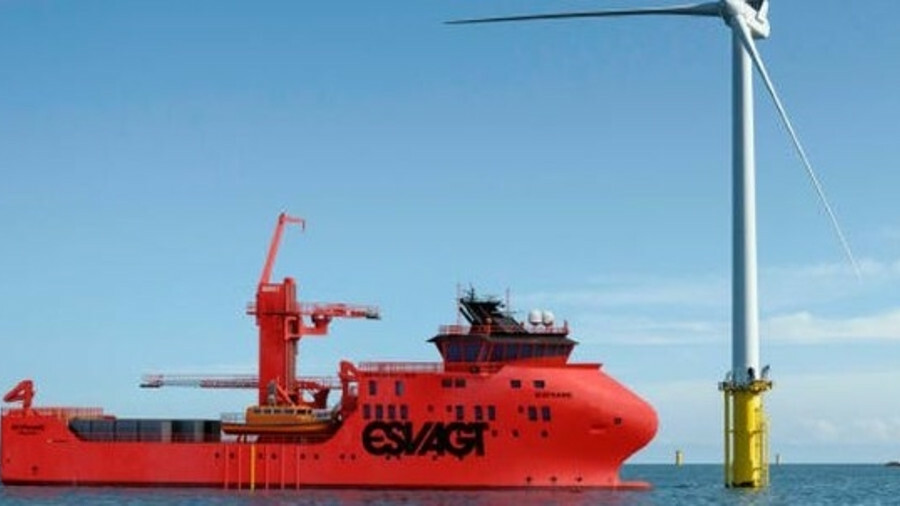 Esvagt's latest Havyard's 831L is expected to be ready for charter in February 2021