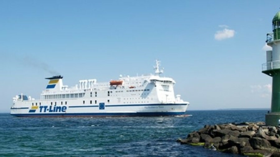 TT Line has ordered its first LNG-fuelled ferry, due for delivery in 2022 (credit: TT Line)