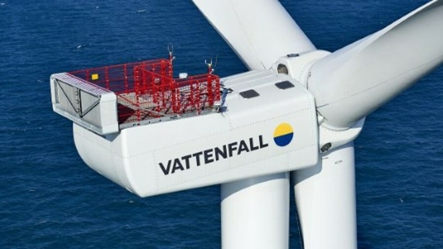 The first power has been produced by the Horns Rev 3 offshore windfarm
