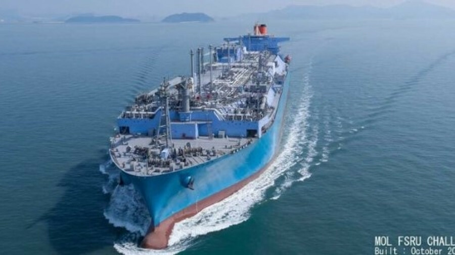Turkey's biggest FSRU makes record ship-to-ship LNG transfer (credit: MOL)