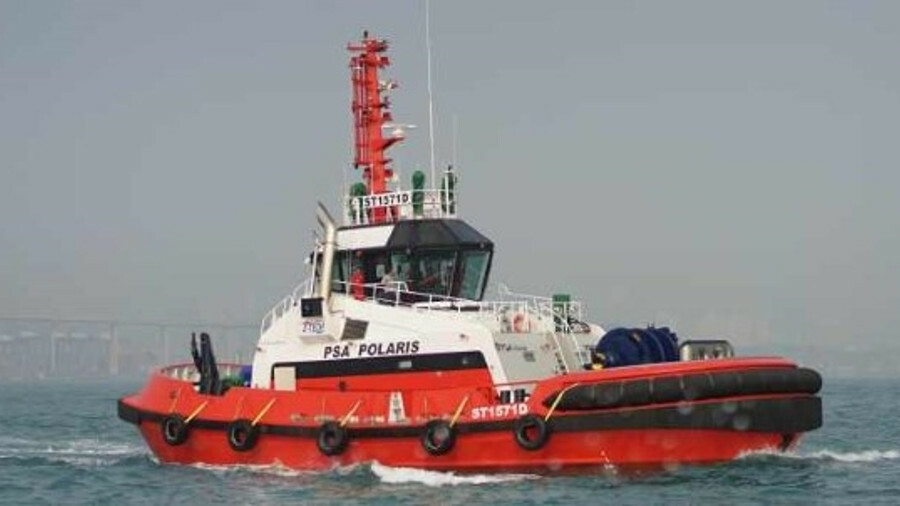 Stellar terminal tugs unveiled by PSA Marine in Singapore