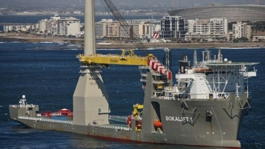 Boskalis will use Bokalift 1  to transport and install the foundations, offshore substation foundati