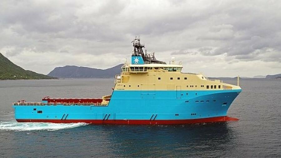 Maersk Mariner has been operating in Western Australia since September 2017 (credit: Maersk Supply S