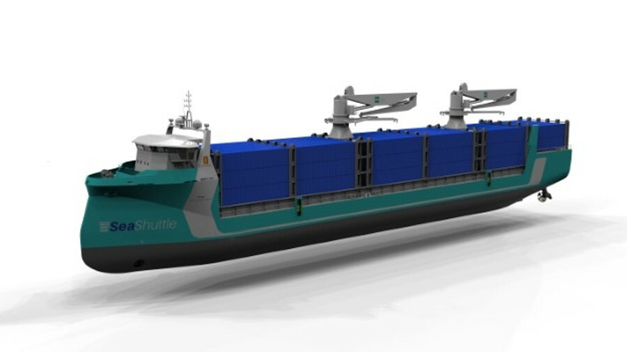 The Samskip-led Seashuttle project aims to develop a short-sea container ship powered by hydrogen fu