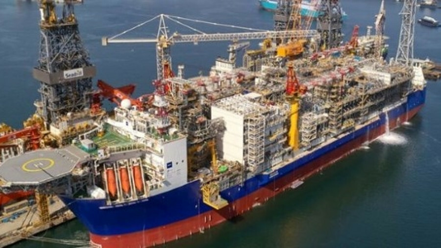 Ichthys Venturer, the FPSO stationed at the giant Ichthys LNG project off Western Australia in which