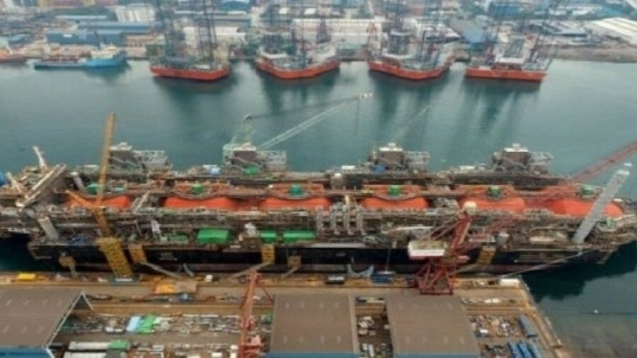 Golar was contracted to construct the Fortuna FLNG