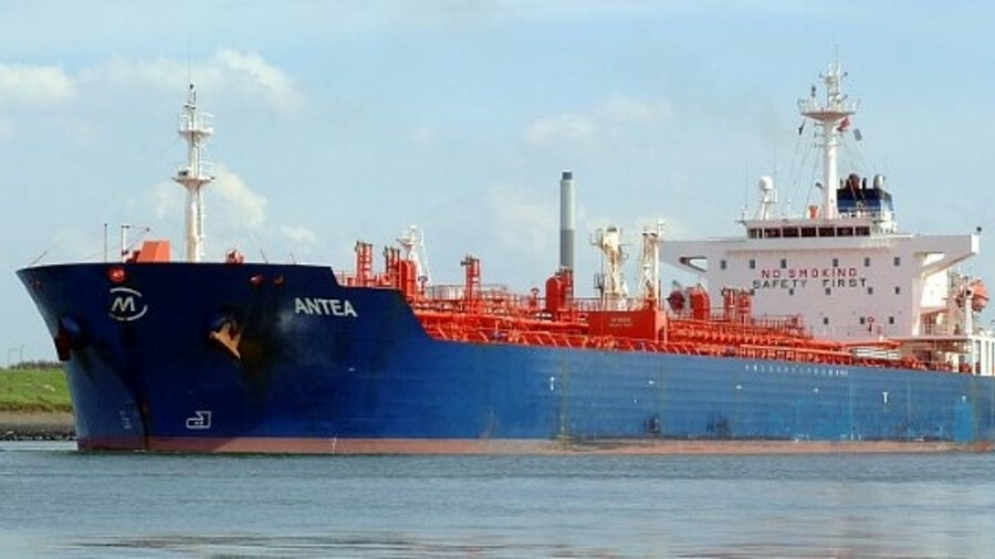 Antea is reported to have collided with Star Centurion at around 6 am local time on 13 January (cred