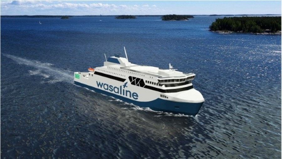 Rauma Marine Constructions (RMC) is to build a ferry that runs on a combination of LNG, biogas, dies