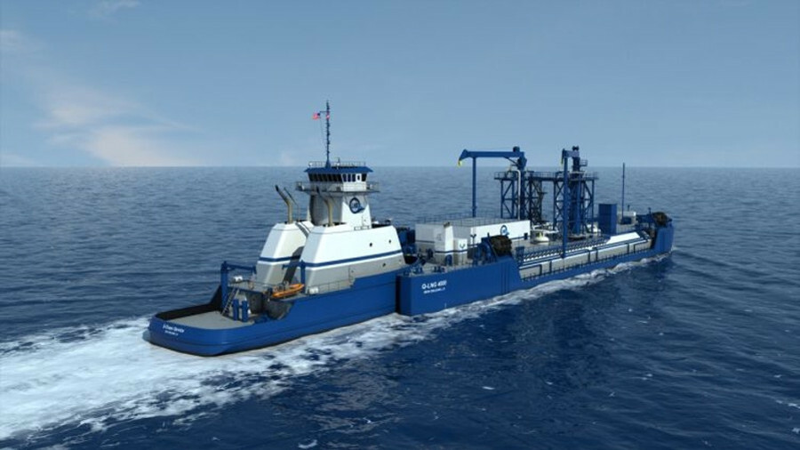 Harvey Gulf subsidiary Q-LNG has ordered a second tug and barge for gas bunkering in the southeast U