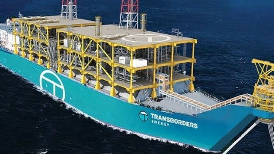 Transborders Energy's replicable design for a small-scale FLNG (credit: Transborders Energy)