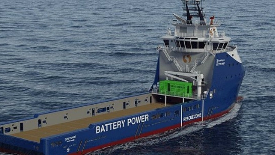 The three vessels will be compatible with hybrid battery-power upgrades