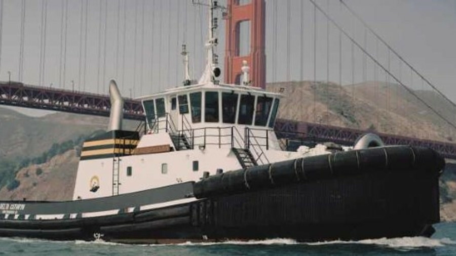 Nichols Brothers Boat Builders is building a tug with hybrid propulsion for Baydelta Maritime